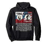 Trump Putin Treason T Shirt Impeach 45 Code 2381 Treason Hoodie Black