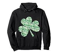 Shamrock T Shirt Saint Patricks Day Hoodie Black