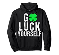 Funny Saint Patrick S Day T Shirt For Adults  Hoodie Black