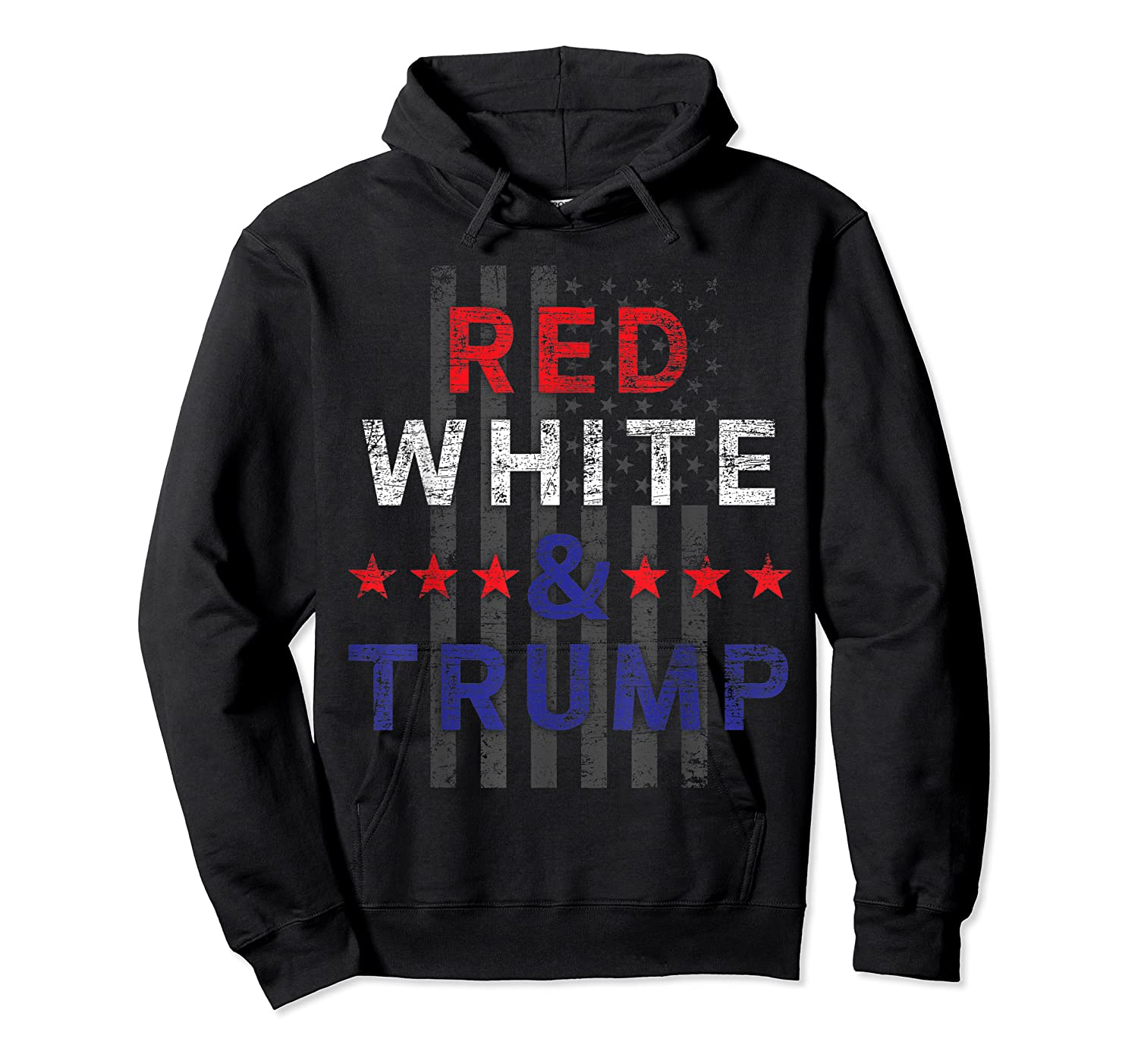 Red And Trump Usa Flag 2020 Election Donald Trump Shirts Unisex Pullover Hoodie