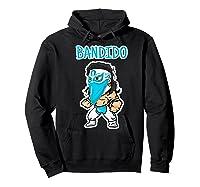 Feel Ink Bandido Bandit Lucha Libre Mexican Pro Wrestler Premium T Shirt Hoodie Black