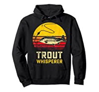 Trout Fishing Brook, Brown, Rainbow Trout Fish Gift Shirts Hoodie Black