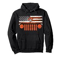 Oklahoma State Cow Nation Flag Apparel T Shirt Hoodie Black