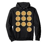 Eleven 11 Waffles T Shirt Tee Hoodie Black