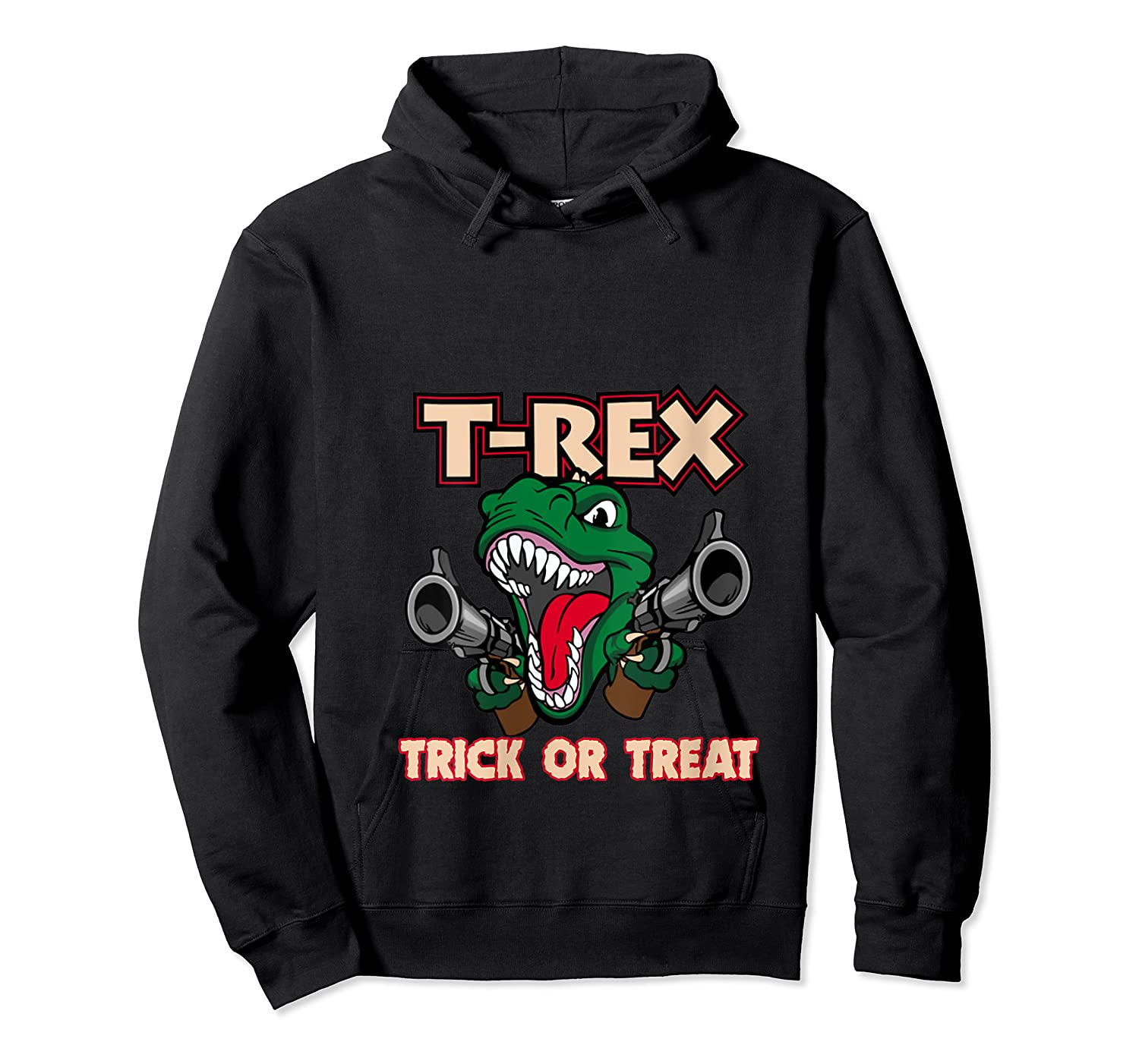 T Rex Arms Trick Or Treat Halloween Shirts Unisex Pullover Hoodie