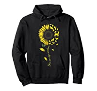 You Are My Sunshine Sunflower Goat For Woman Shirts Hoodie Black