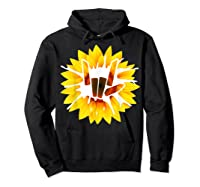 Share Love With Sunflower For And Shirts Hoodie Black