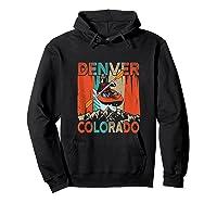 Denver Colorado Water River Rapids Kayaking Shirts Hoodie Black