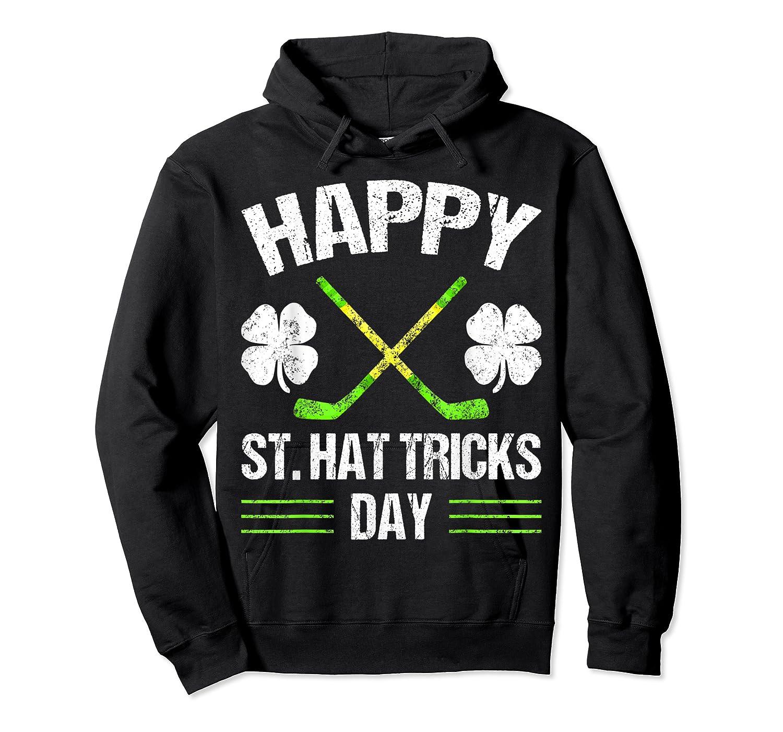 Saint Hattrick S Hockey St Patrick S Day Shamrock T Shirt Unisex Pullover Hoodie