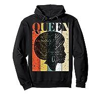 African American Queen T Shirt Black History Urban Soul Tees Hoodie Black