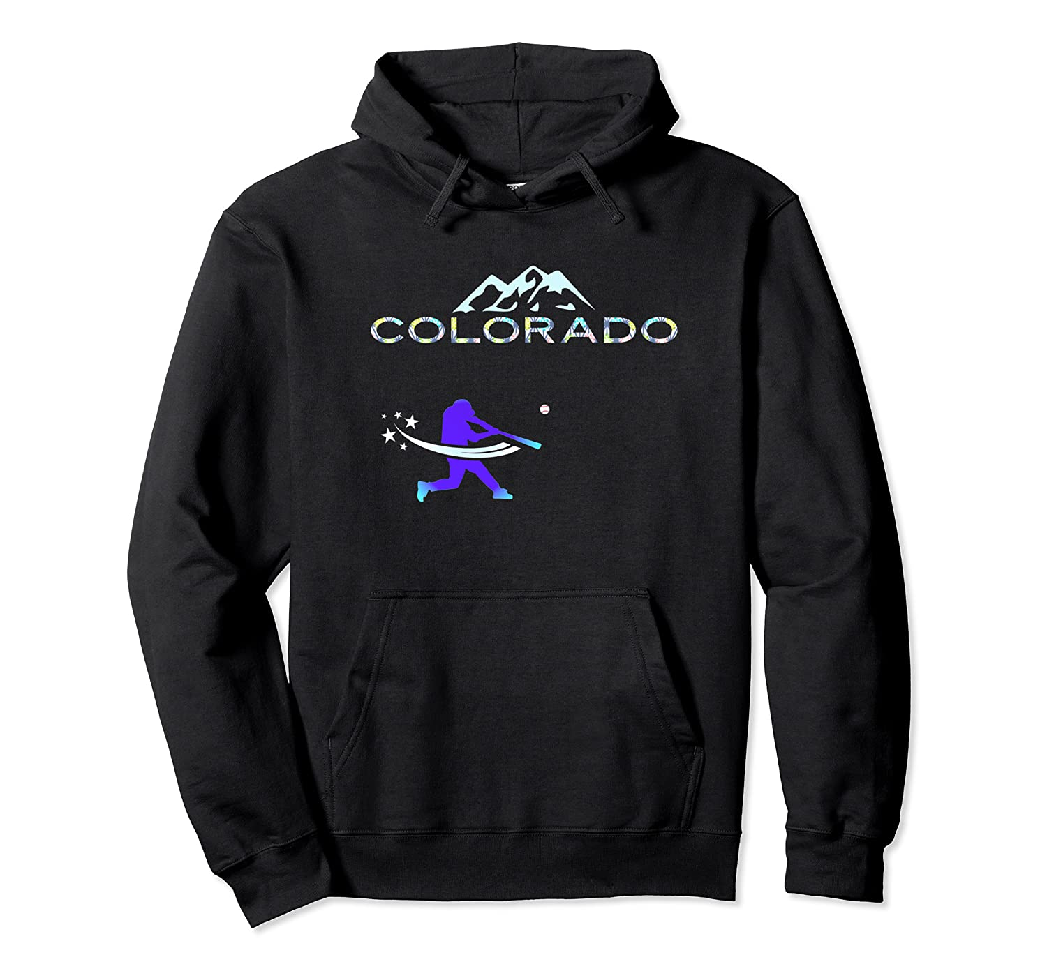 Colorado Rocky Mountain Hometown Baseball Player Shirts Unisex Pullover Hoodie