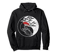 Spirit Soul Yin Yang Bonsai Tree Meditation Shirts Hoodie Black