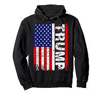 Donald Trump 2020 Vintage Usa Flag Shirts Hoodie Black