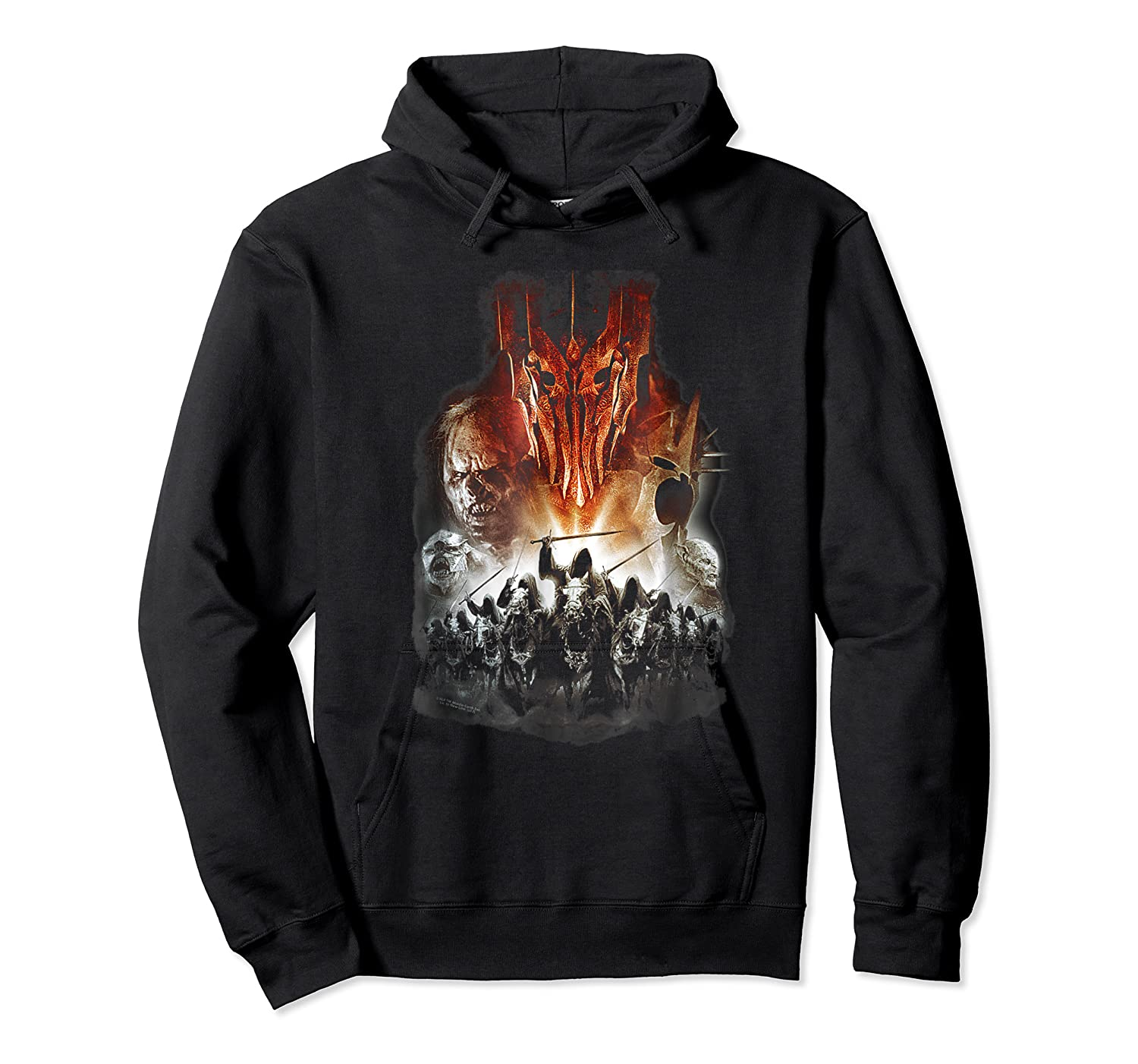 Lord Of The Rings Evil Rising Shirts Unisex Pullover Hoodie
