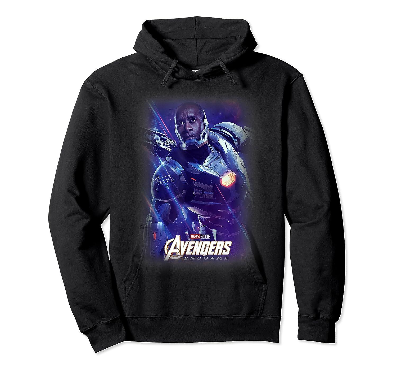 Marvel Avengers Endgame War Machine Galactic Poster T-shirt Unisex Pullover Hoodie