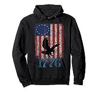 Betsy Ross Shirt 4th Of July American Flag Tshirt 1776 Eagle Hoodie Black