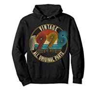 Vintage 21st Birthday Gift Shirt For Classic 1998 T-shirt Hoodie Black