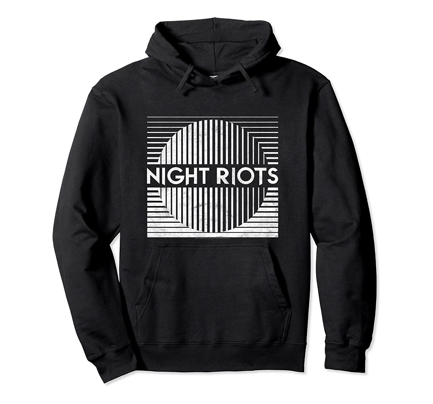 Night Riots Title Shirts Unisex Pullover Hoodie