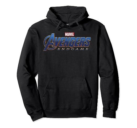 7f13e5189a4 Marvel Avengers Endgame Movie Logo Graphic Hoodie