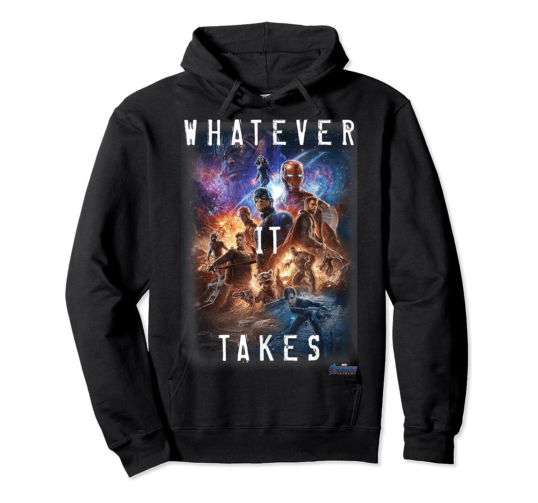 Marvel Avengers Endgame Movie Poster Whatever It Takes T-shirt Unisex Pullover Hoodie