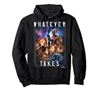 Marvel Avengers Endgame Movie Poster Whatever It Takes T-shirt Hoodie Black