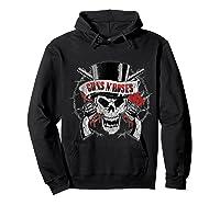 Guns N' Roses Top Hat Skull T-shirt Hoodie Black