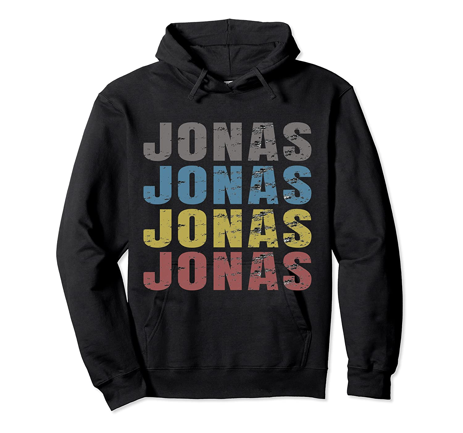 Jonas First Given Name Pride Funny T Shirt Unisex Pullover Hoodie
