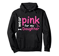 Breast Cancer Chemo Awareness Month T Shirt Hoodie Black