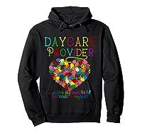 Daycare Provider Tshirt Appreciation Gift Childcare Tea T Shirt Hoodie Black