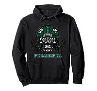 Philadelphia Football Helmet Sugar Skull Day Of The Dead T Shirt Hoodie Black