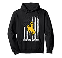 Wing Cow Nation Flag T Shirt Apparel Hoodie Black