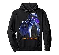 S Darth Vader Shadow Silhouette Shirts Hoodie Black