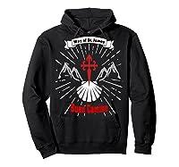 Saint James Buen Camino Way To Santiago De Compostela Gift Shirts Hoodie Black