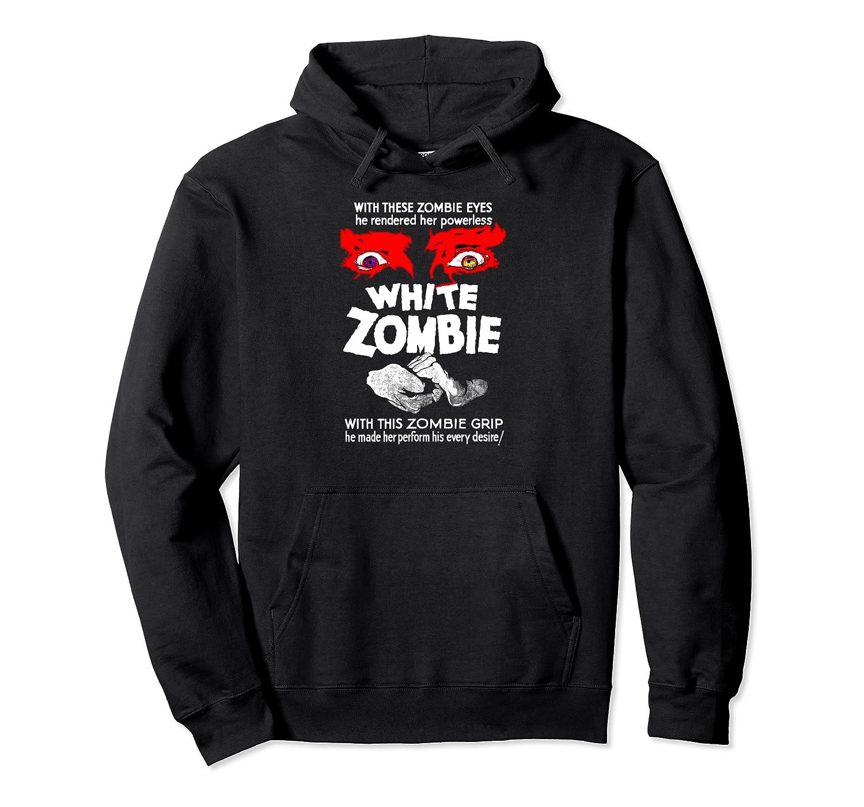 White Zombie Retro Classic Sci Fi Horror Movie Film Pullover Hoodie