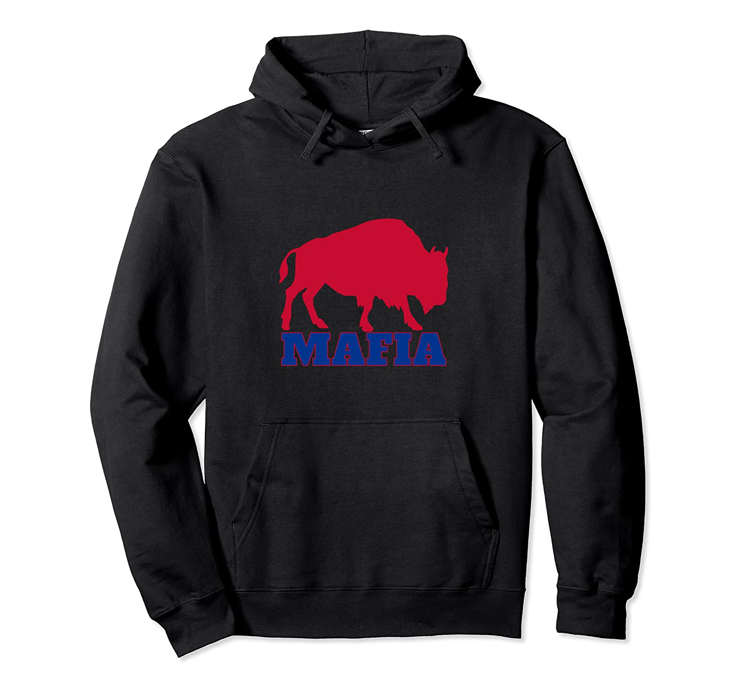 Bills Mafia Great Gift Buffalo Sports Bull Tailgate Party Pullover Hoodie-TH