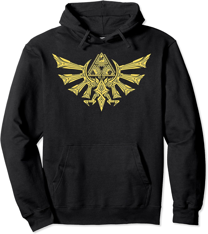 Nintendo 2021 model Cheap bargain Zelda Ornate Hyrulian Hoodie Emblem Graphic