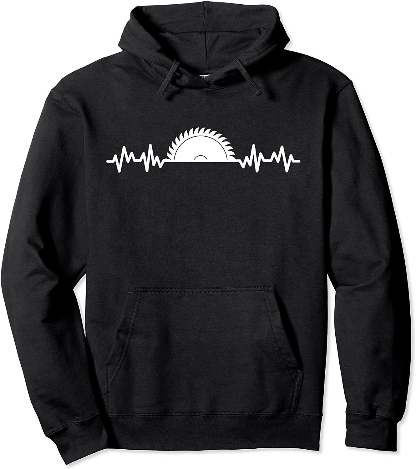 Carpenter Woodworking お得セット Saw Pullover Heartbeat 在庫一掃売り切りセール Hoodie