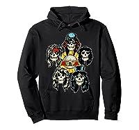 Guns N' Roses Skull Heads Shirts Hoodie Black