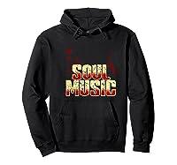 Soul Music Vintage 70s 80s Old School Gift Shirts Hoodie Black