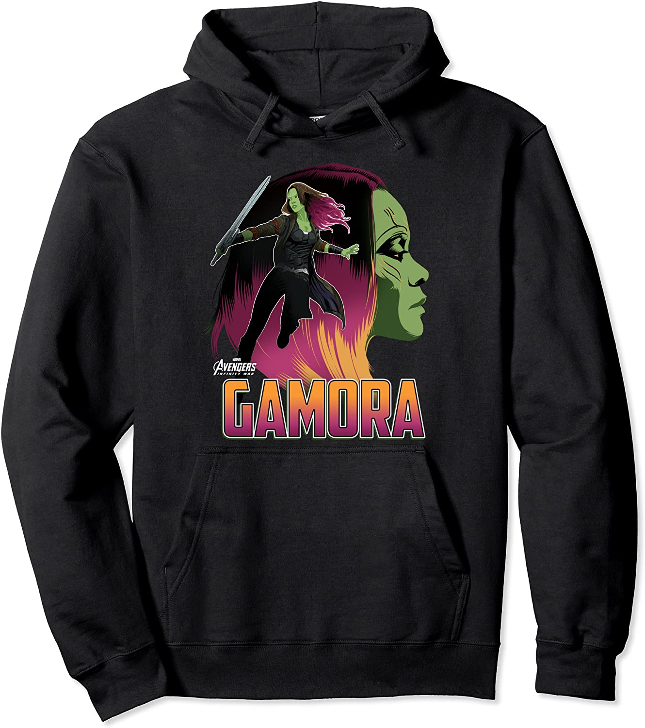 Super special price Marvel Infinity War Gamora Graphic OFFer Head Hoodie Profile