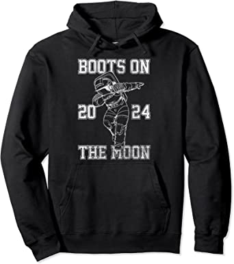 Netflix Space Force Boots On The Moon 2024 Sweat à Capuche
