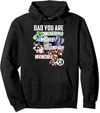 Marvel Avengers Dad You Are Incredible Sweat à Capuche