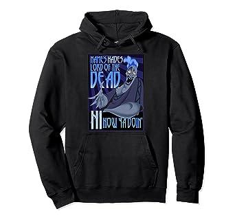 com disney hercules the s hades quote graphic hoodie