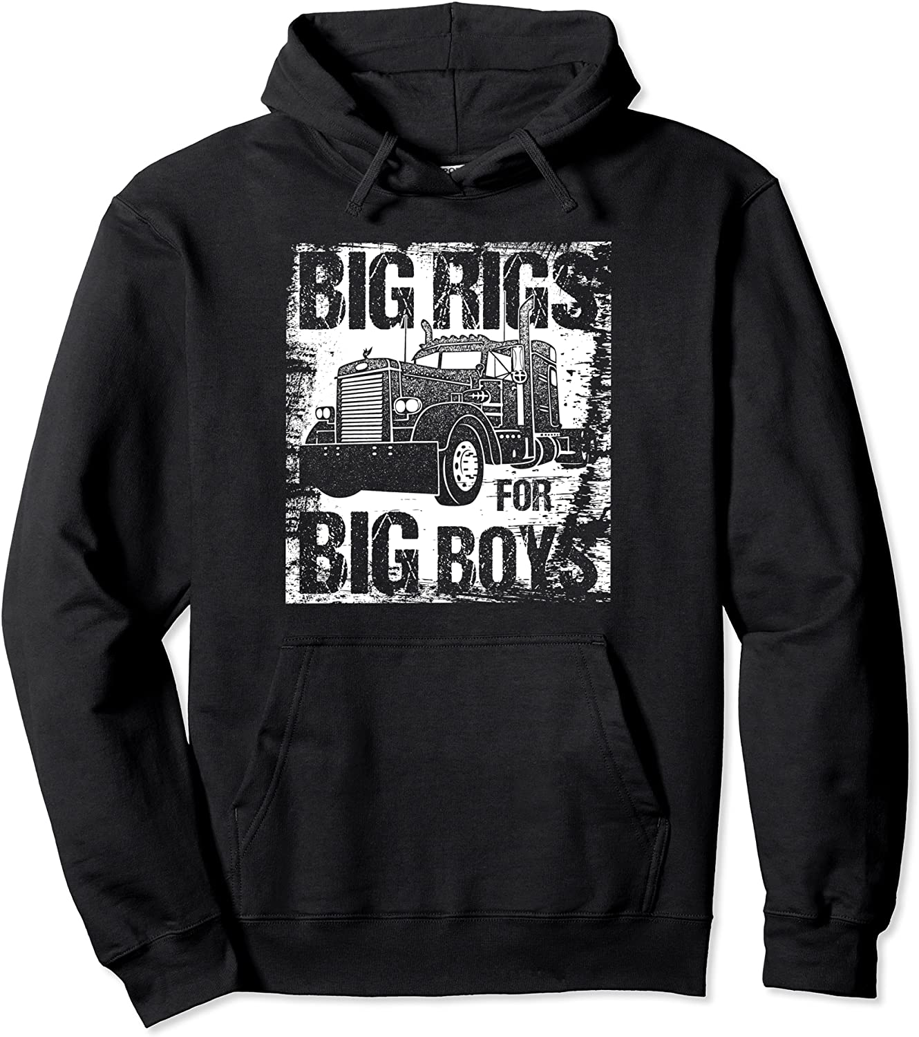 Big Rigs for Boys All items free Rare shipping Semi Drivers Hoodie Trucking Truck