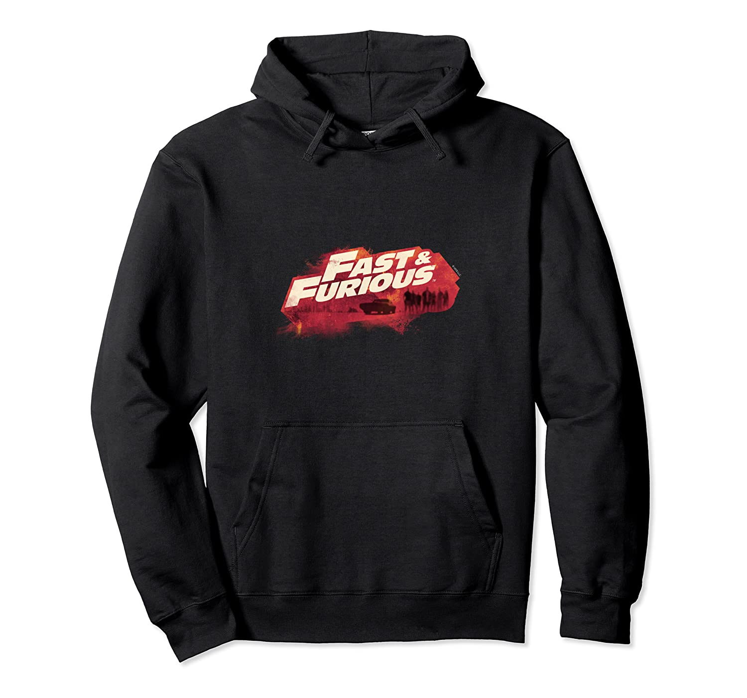 Fast Furious Red Hue Logo Pullover Shirts
