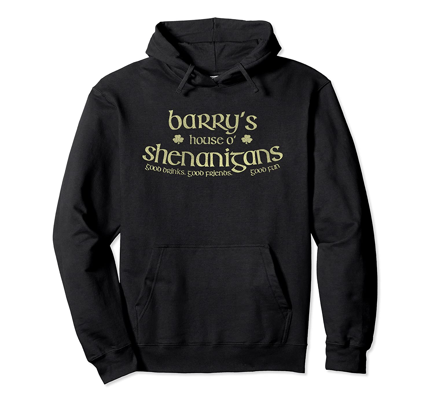 Barry's House O' Shenanigans Funny Irish Pullover Hoodie-Awarplus