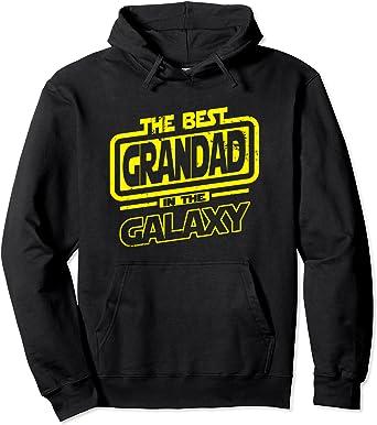 Grandad The Best In The Galaxy Gift Sweat à Capuche
