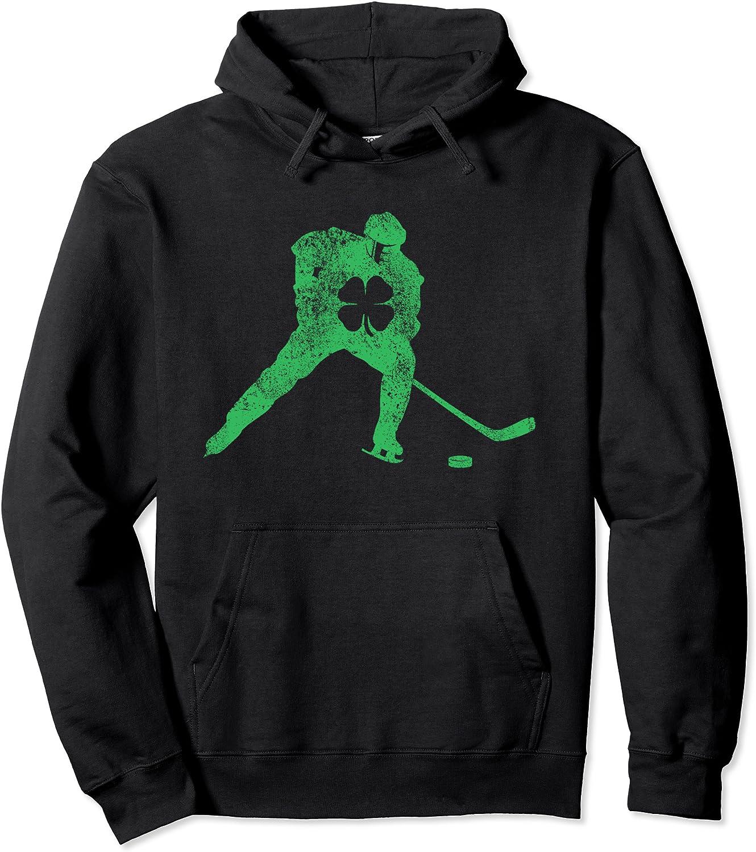 Arlington Mall St Patrick's Safety and trust Day Hockey Irish Saint Shamrock Paddys Boys Pullove