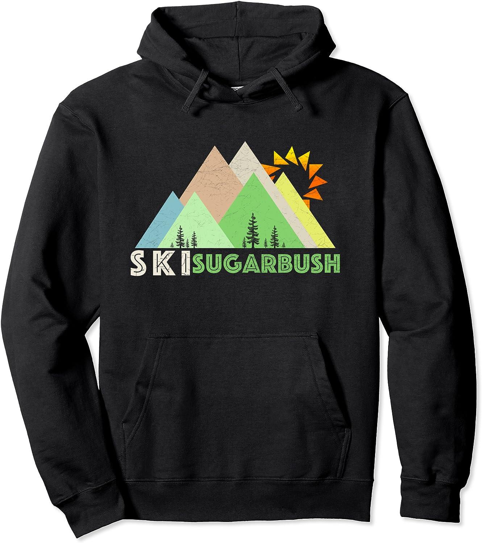 Ski List price Sugarbush Hoodie-Retro VT Vintage Shirt Classic