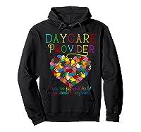 Daycare Provider Tshirt Appreciation Gift Childcare Tea  Hoodie Black
